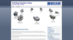 Engineering Company Website Design